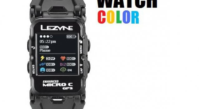 Micro Colour Watch gps