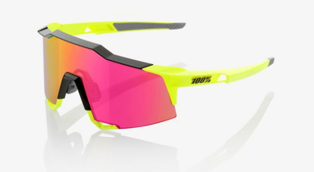 100% Speedcraft Black Fluo Yellow