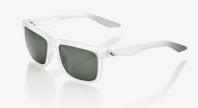 100% Blake Translucent crystal Grey green Lens