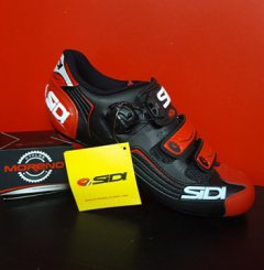 SOLDES Chaussures Sidi Alba Black Red - SIDI - Occas' et Promos - Route