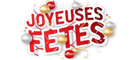 Bonnes fêtes! (congés)